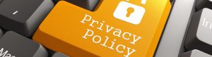 Privacy Policy button on pc