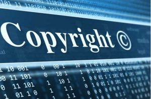 Copyright written on pc