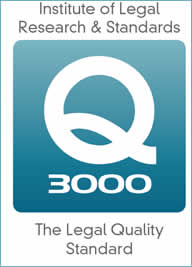 Q3000 Legal Quality Standard logo